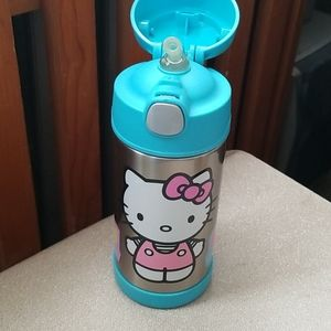 Hello Kitty Thermos Insulated Bottle 8 oz